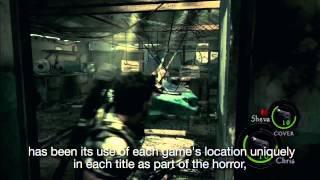 Resident Evil Revelations Developer Diary - Horror Heritage