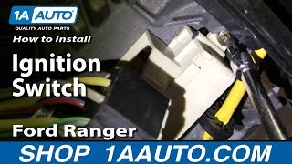How To Install Replace Ignition Switch Ford Ranger 95-04