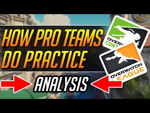 How Pro Teams Practice - Scrim Gameplay Guide | Overwatch Guide