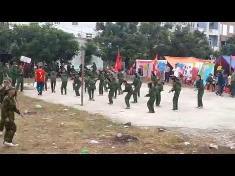 [Trại hè HKB 2014] Dân vũ Rửa tay và Nối vòng tay lớn - Thanh Vinh 1,2