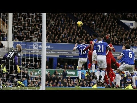Everton vs Liverpool 3-3 2013 All Goals & Highlights HD