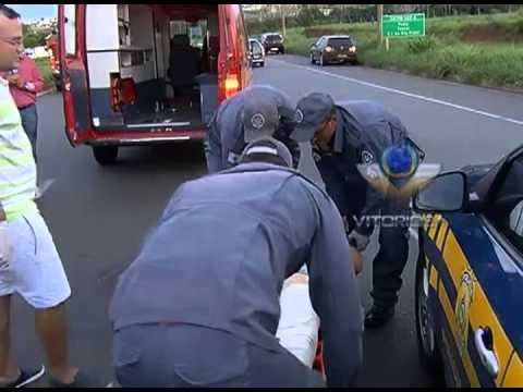 Ciclista é atropelado na BR-365 próximo ao bairro Tocantins