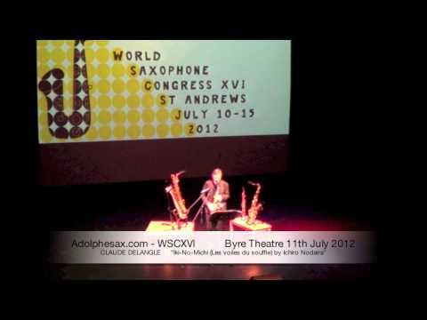 WSCXVI CLAUDE DELANGLE Iki-No-Michi (Les voiles du souffle) by Ichiro Nodaira