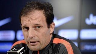 Juventus-Verona, Serie A. Le parole di Allegri - Allegri's preview