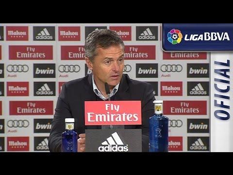 Rueda de Prensa de Escribá tras el Real Madrid (3-0) Elche CF - HD