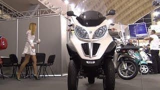 [Piaggio MP3 LT 300 Exterior and Interior in 3D 4K UHD] Video