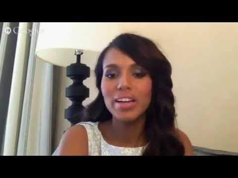 Gold Derby Emmy Google+ Hangout: Kerry Washington ('Scandal')