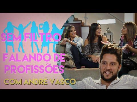 Falando de profissões com André Vasco | Sem Filtro