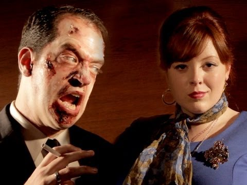 Walking Dead Mad Men!, Zombies have taken over the ad agency! Written by Todd Womack, Mark Douglas, and Bryan Olsen. Directed by Tom Small. See hilarious outtakes! http://www.youtu...