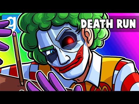 Gmod Death Run Funny Moments - The Joker's Lair! (Garry's Mod)