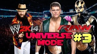 "WWE 2K14: Universe Mode A New Era 3 ""Introducing The"