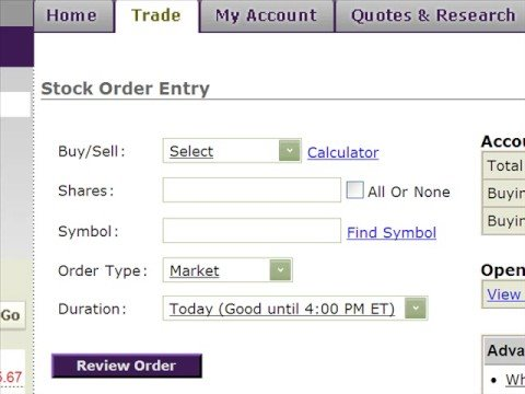 purchase stock stop limit order