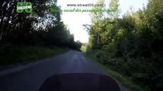Roadbook moto Puy-de-Dôme : Les Gorges de Courgoul