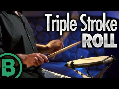 Triple Stroke Roll - Drum Rudiment Lesson