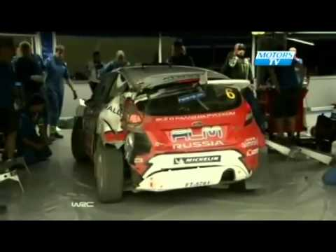 WRC Rally Finland 2012 - Day 1 &amp; 2