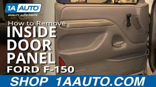 How To Install Replace Remove Inside Door Panel Manual