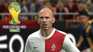 PES 2014 Brazil 2014 Simulation Holland Vs. Australia