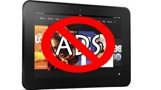 Kindle Fire HD: How To Remove The Ads