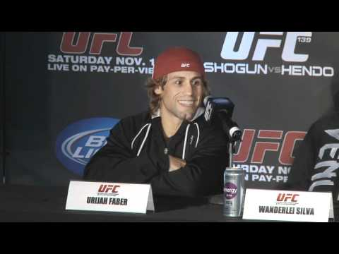 UFC 139 Pre-fight PC Highlight: Faber Reminisces about Henderson