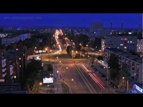 Timelapse Grodno (Belarus) / Таймлапс Гродно (Беларусь) 2012