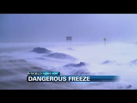 Extreme Weather: Rare Winter Storm Hits South