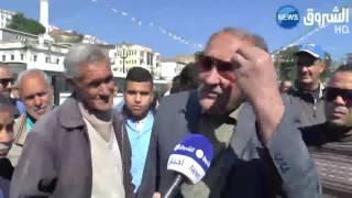 فيديو .. جزائريون دايرين الصف من أجل الفوز بحصتهم من البطاطس |