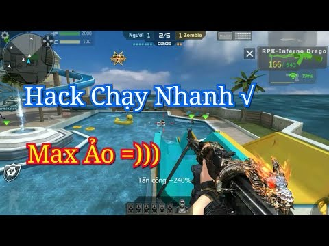 Bình Luận CF Mobile/CF Legends | RPK-Infernol Dragon - Bug/Hack Chạy Nhanh (Hack Speed)