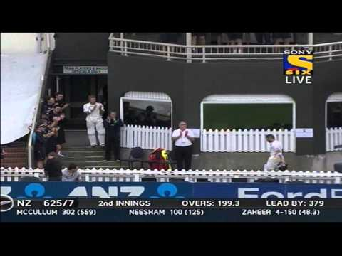 New Zealand 2nd Innings | Fall of Wickets | India vs New Zealand | Day 4 & 5 | 2nd Test | 2014