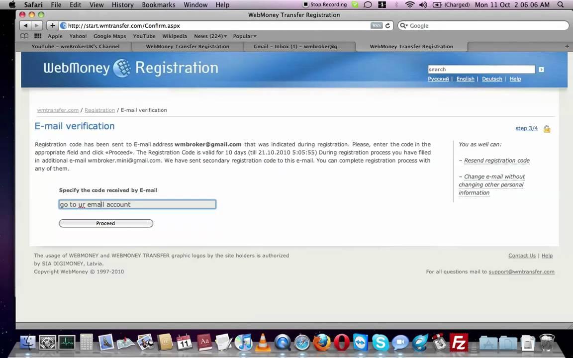 webmoney register