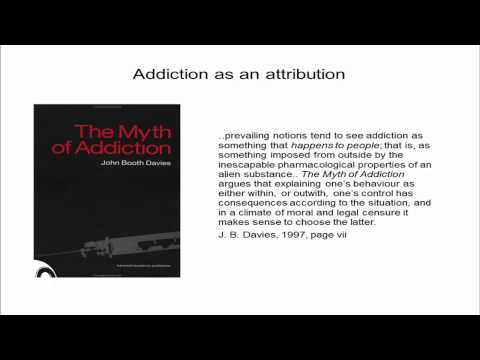 8/14, Session 3: The Food Addiction Model is not Appropriate for Use with Food