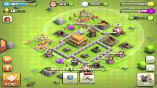 BEST Clash Of Clans Defense Strategy For Town Hall Level 3