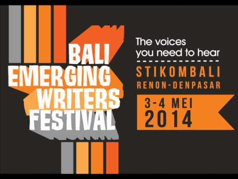 Phoenix Radio Bali promotion - 2014 Bali Emerging Writers Festival