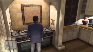 GTA V (GTA 5): Michael's House, Michael Gameplay (Xbox 360