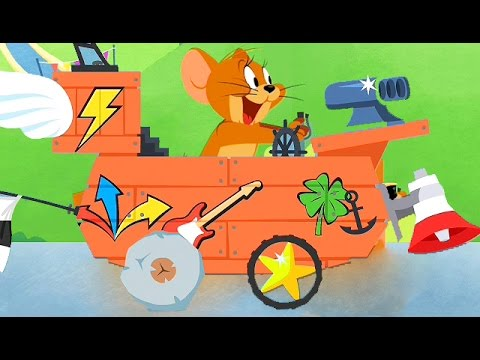 Tom and Jerry / Boomerang Make and Race 4 / Cartoon Games Kids TV