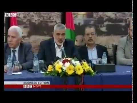 Rivals Hamas and Fatah sign Palestinian unity deal