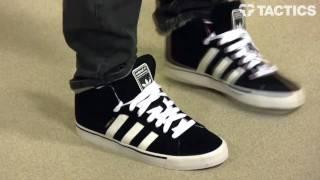 Adidas Campus Vulc Hi Skate Shoes Review Tactics.com