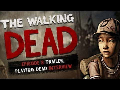 The Walking Dead: The Game - Season 2 Episode 2 Trailer, Scott Porter Interview - Playing Dead ...
