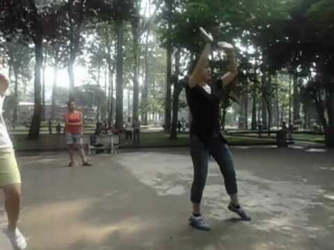 [DATAonline.com.vn] - Huong dan nhay Linedance don gian ( 21/07/2012)