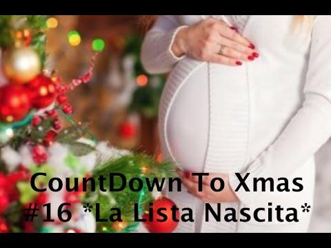 CountDown To Xmas -9 *Lista Nascita*