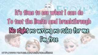 "Idina Menzel Let It Go (from ""Frozen"") [Karaoke"
