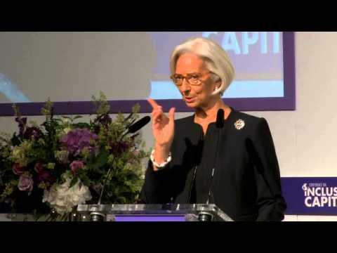 Inclusive Capitalism Conference - Christine Lagarde
