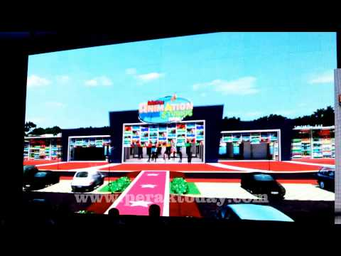 Perak Jadi Lokasi Movie Animation Park Studios (MAPS) Pertama Di Asia