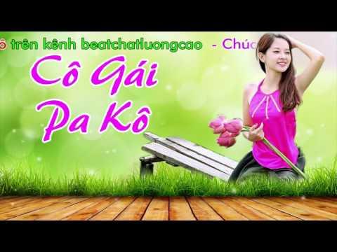 Karaoke Nhạc Sống - Cô Gái Pakô - Beat chất lượng cao