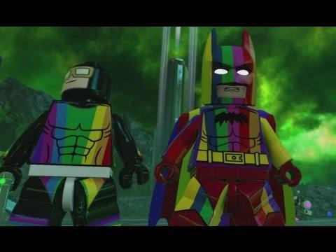 LEGO Batman 3 - Rainbow DLC Pack (Free Roam Gameplay - Rainbow Batman & Rainbow Raider)