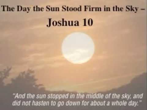 Joshua 10 (with text - press on more info. of video on the side)