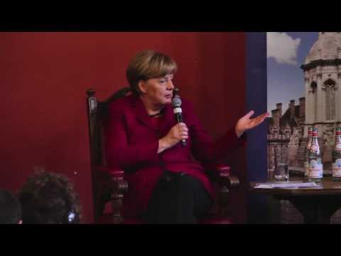 Trinity College Dublin Welcomes the German Chancellor Angela Merkel