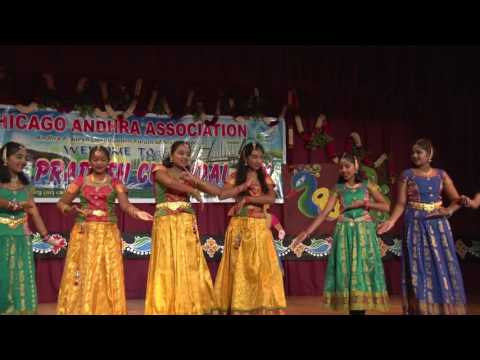 CAA - AP Cultural Festival - Oct 16th 2016 -   Item-4 - Swagatam Dance