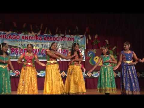 CAA - AP Cultural Festival - Oct 16th 2016 -   Item-4 - Swagatam Dance