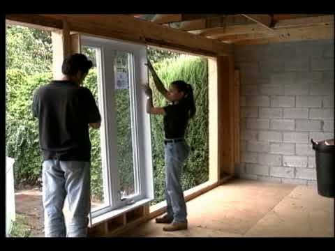 Fenetres installation youtube for Fenetre installation