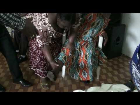 miracle au gabon avec le reverend Tokro Pacome